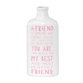 Perfect Friend Message On A Bottle Gift