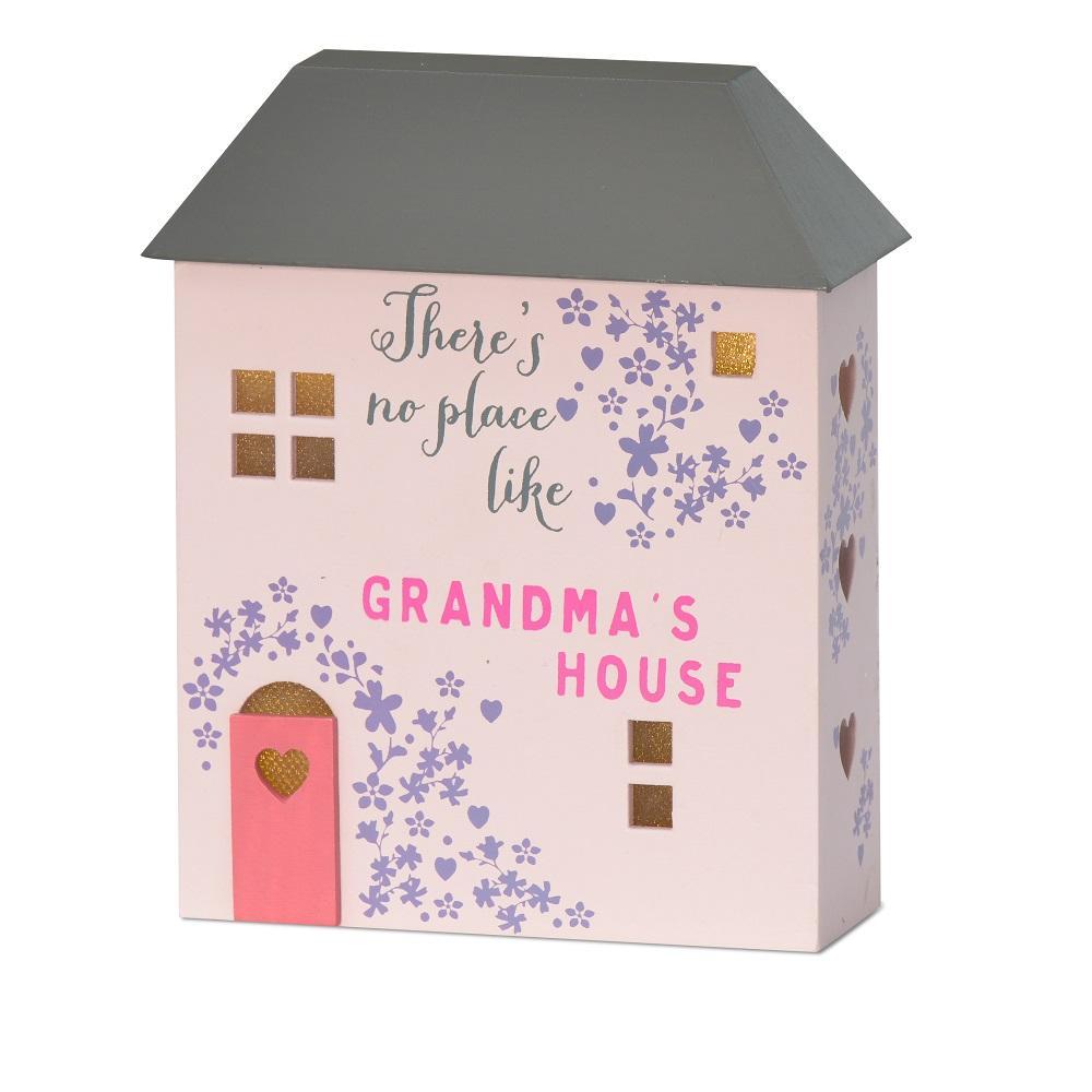 No Place Like Grandma's House Light Up House Gift