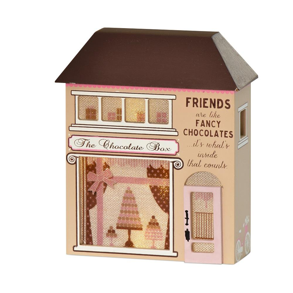 Friends Are Like Fancy Chocolates Light Up House Gift