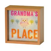 Grandma's Place Light Up Lightbox Gift Idea