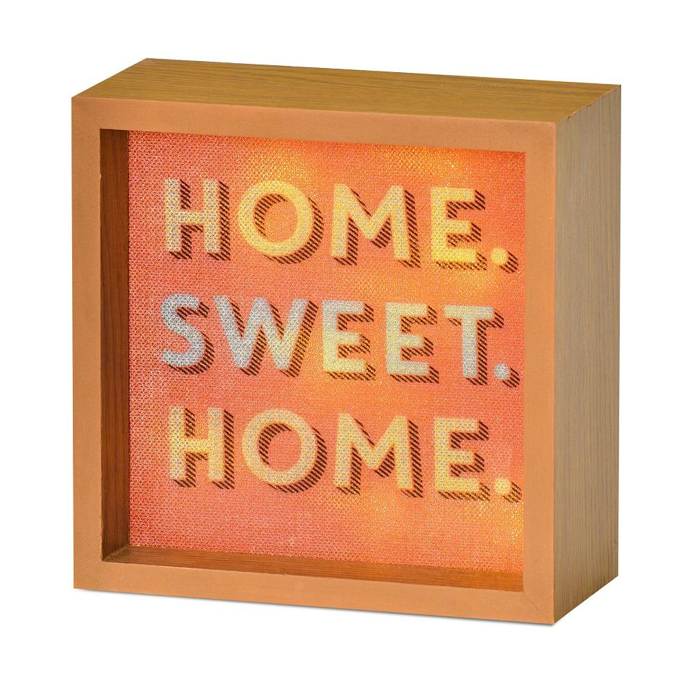 Home Sweet Home Light Up Lightbox Gift Idea