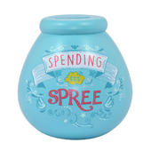 Spending Spree Pots of Dreams Money Pot