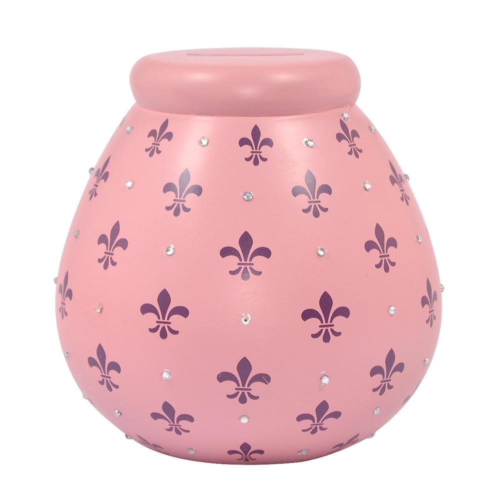 Fleur-de-lys Pots of Dreams Money Pot
