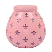 Fleur-de-lys Pots of Dreams Money Pot