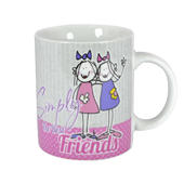 Simply The Best Friends Mug In A Gift Box