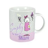 Simply The Best Mum Mug In A Gift Box