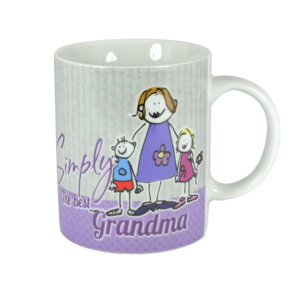 simply the best grandma mug in a gift box gifts love kates. Black Bedroom Furniture Sets. Home Design Ideas