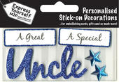 Blue Uncle DIY Greeting Card Toppers