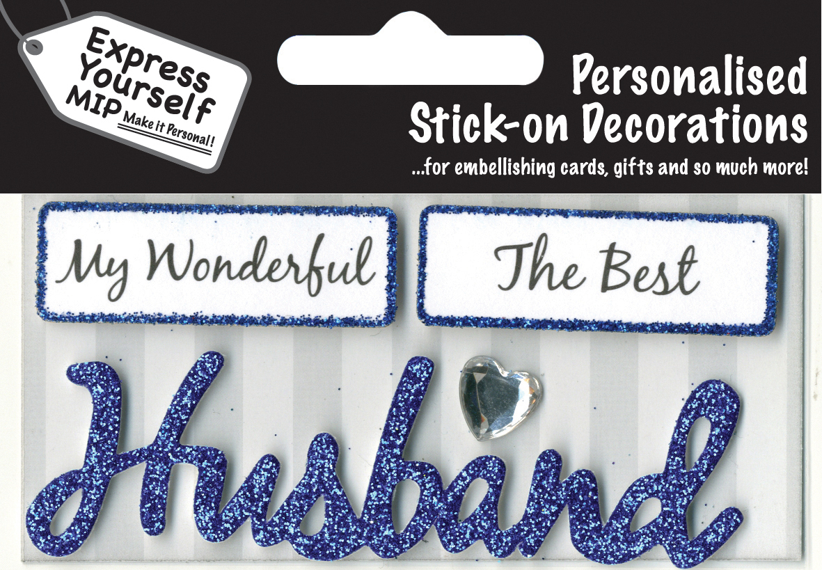 Blue husband diy greeting card toppers gift accessories love kates blue husband diy greeting card toppers kristyandbryce Gallery