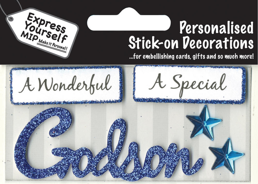 Blue Godson DIY Greeting Card Toppers