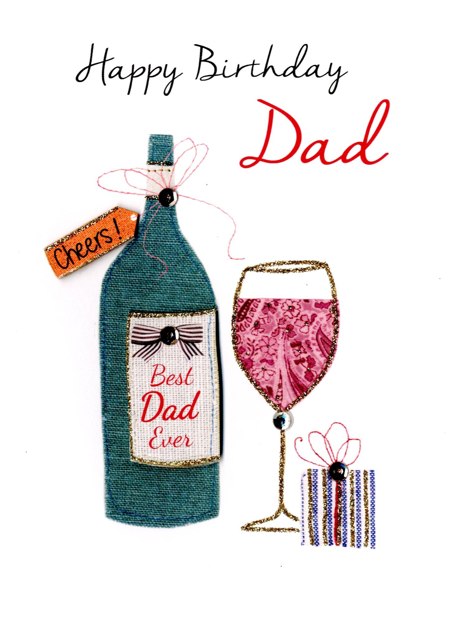 Best Dad Ever Happy Birthday Greeting Card Cards