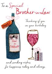 Special Brother-In-Law Birthday Greeting Card