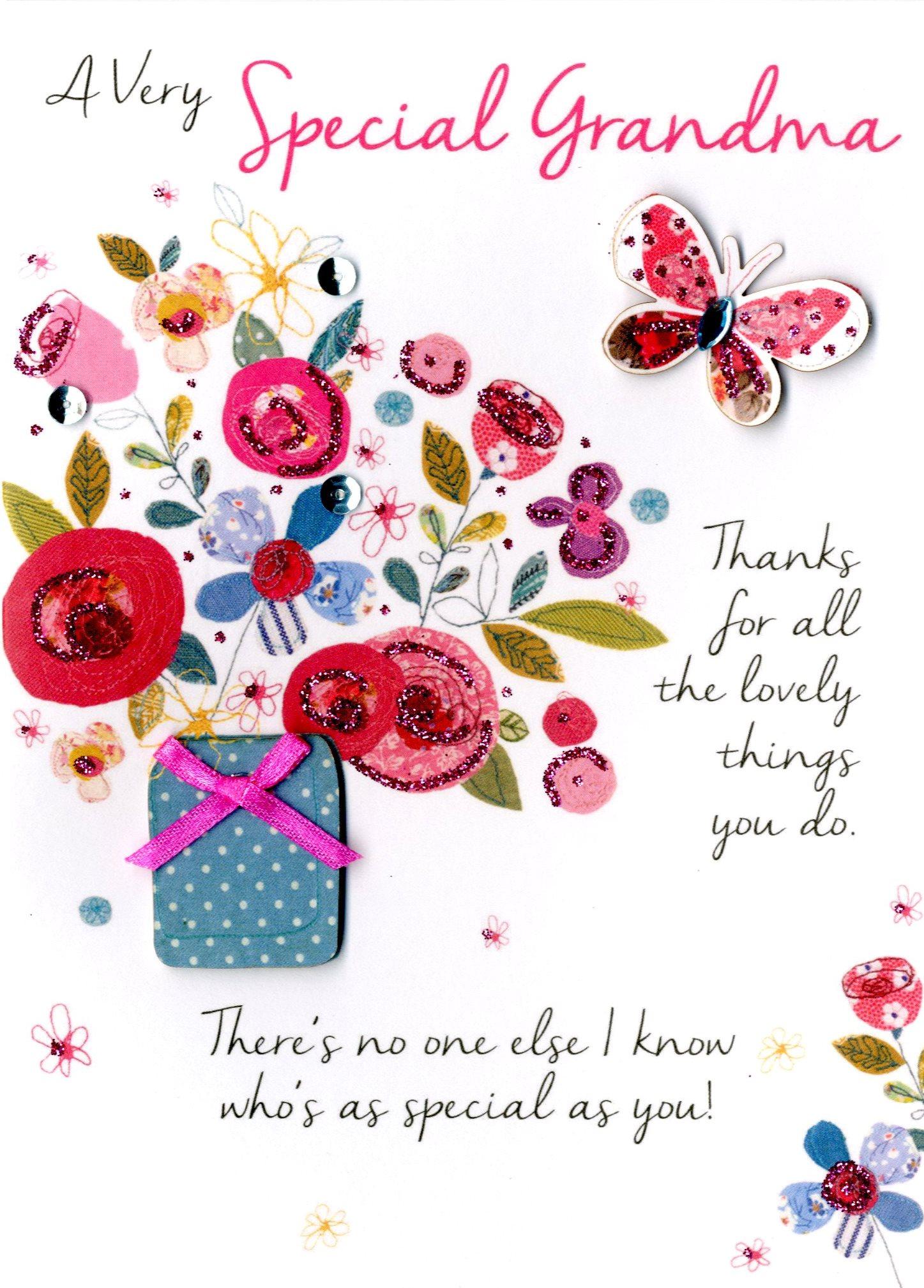 special grandma birthday greeting card  cards  love kates