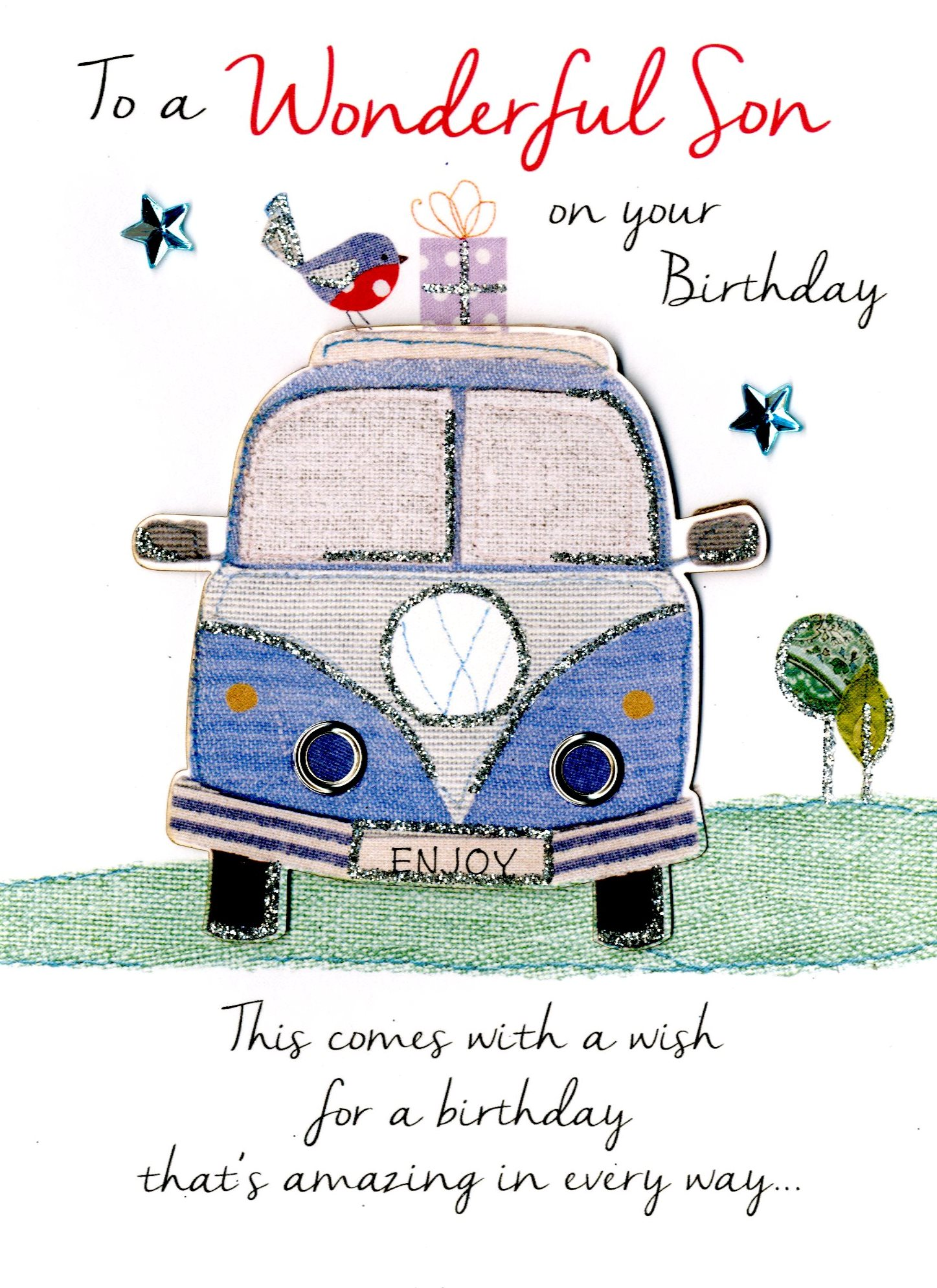 Pleasing Wonderful Son Birthday Greeting Card Cards Funny Birthday Cards Online Alyptdamsfinfo
