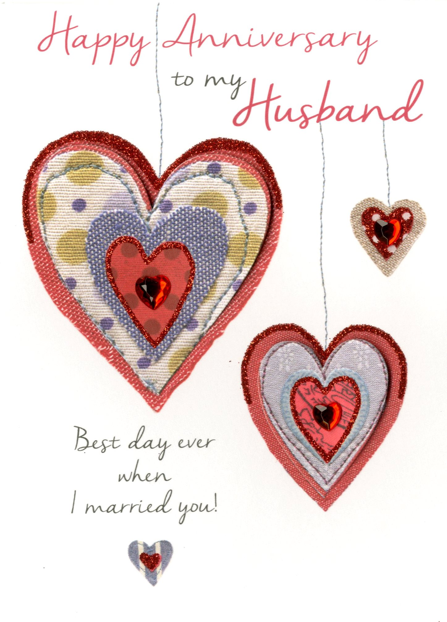 Husband happy anniversary greeting card cards love kates husband happy anniversary greeting card m4hsunfo
