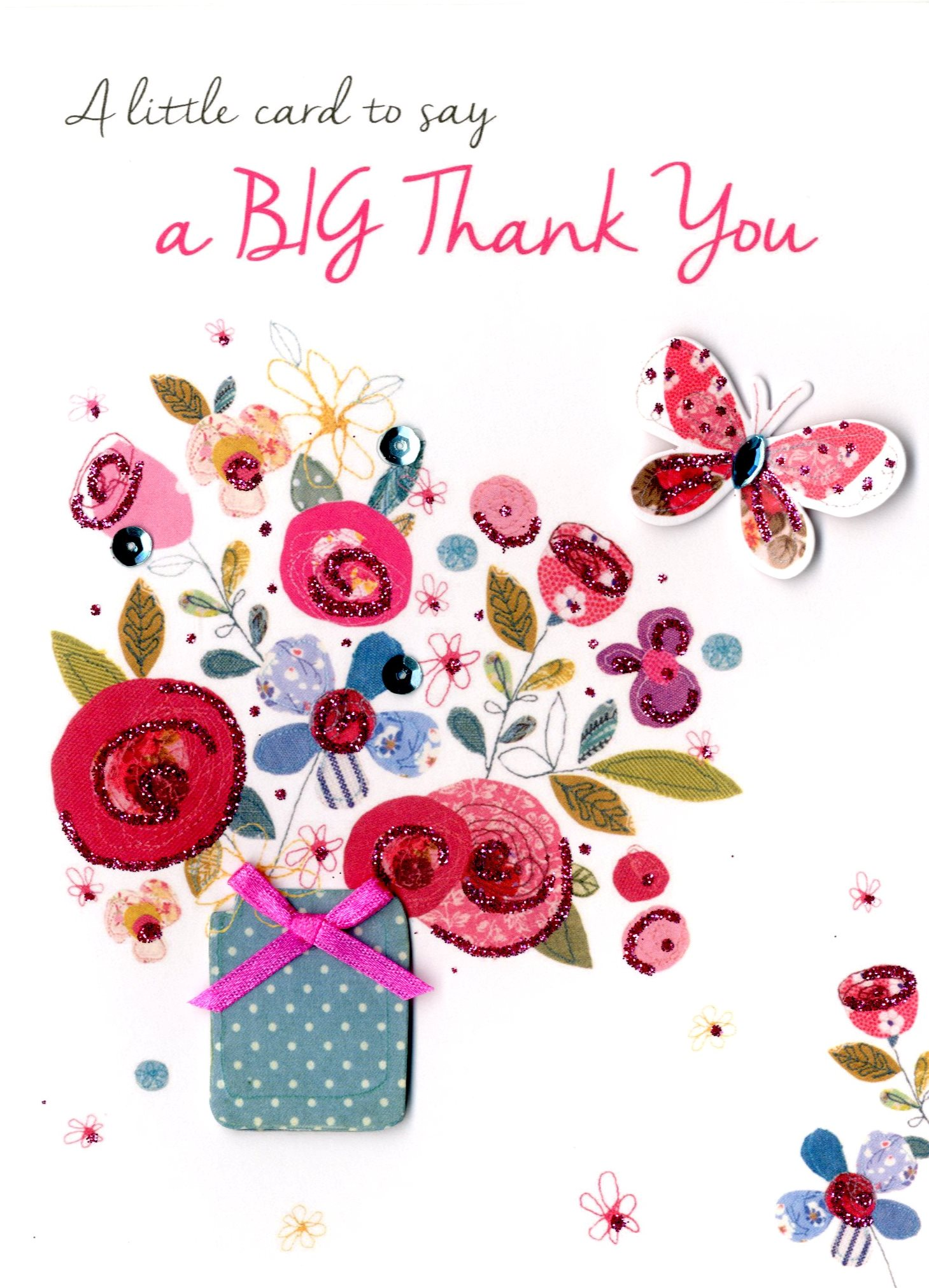 A Big Thank You Greeting Card Second Nature Just To Say Cards