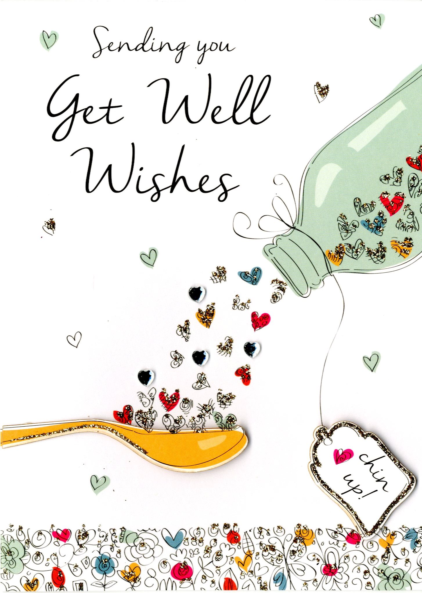 Get Well Wishes Greeting Card Cards Love Kates