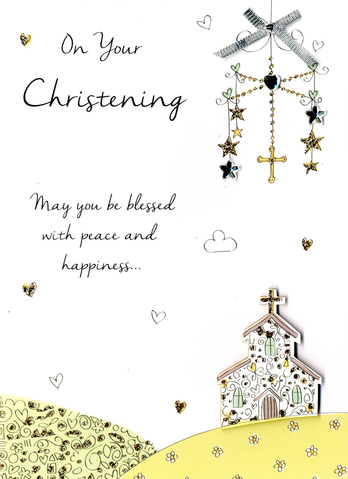 on your christening greeting card  cards