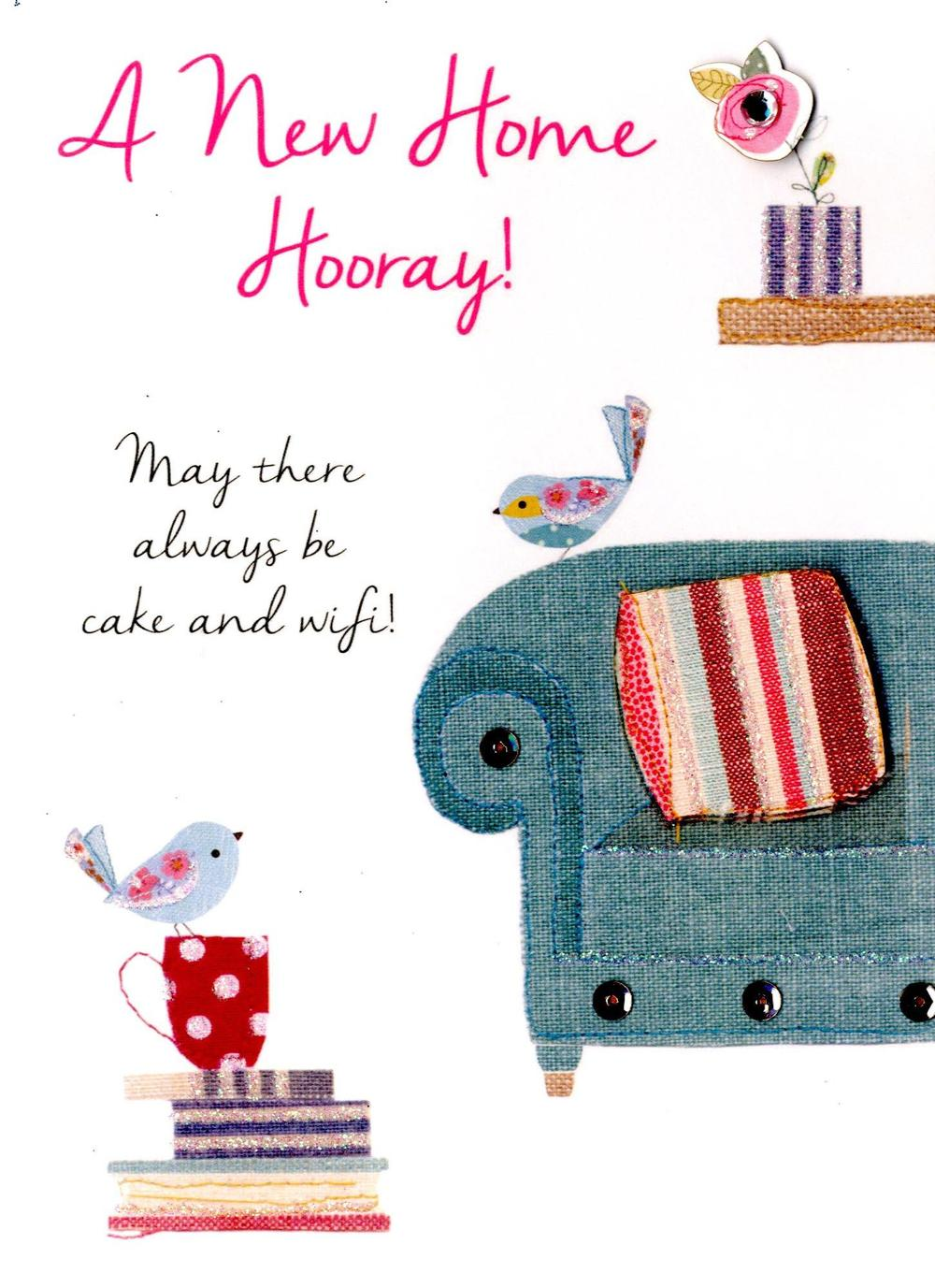 New Home Hooray! Greeting Card