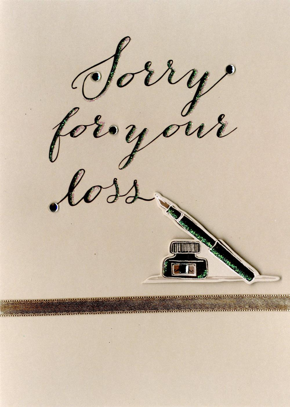 writing a sympathy card for loss of husband Our top 30 most safe short condolence messages for all occasions shows  write down the right short condolence  situation to send a sympathy card,.