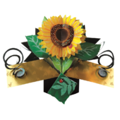 Sunflower Pop-Up Greeting Card