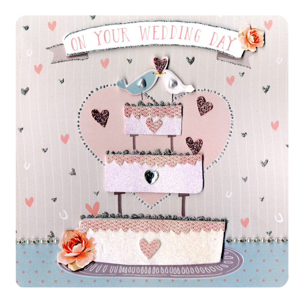 On Your Wedding Day Keepsake Card