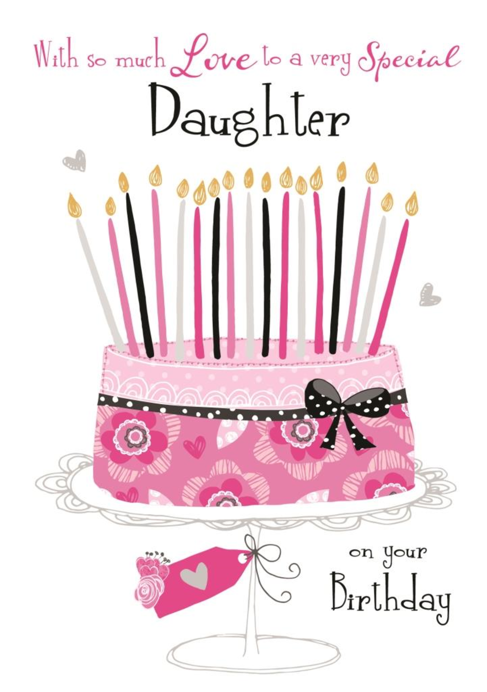 Special daughter birthday greeting card cards love kates special daughter birthday greeting card kristyandbryce Images