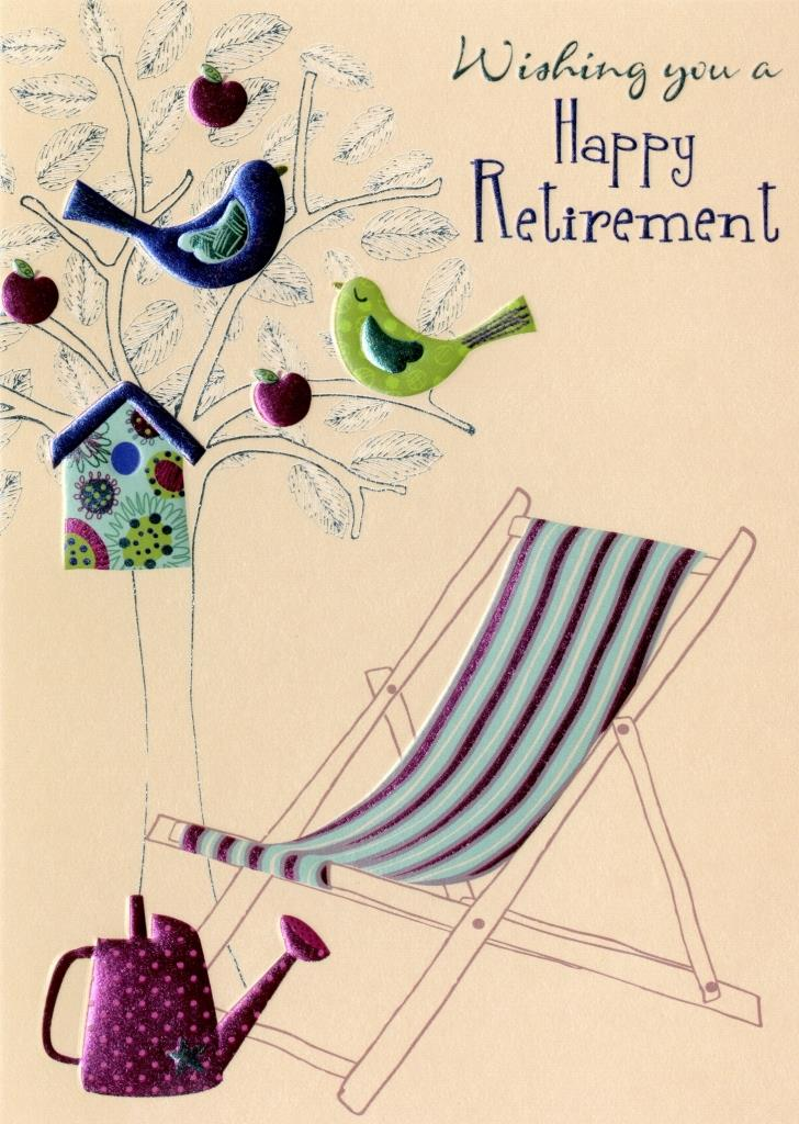 happy retirement greeting card  cards  love kates