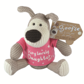 "Boofle Very Lovely Daughter 5"" Sitting Plush Wearing T-Shirt"