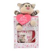 Boofle Bestest Friend Puddy Mug & Plush Gift Set