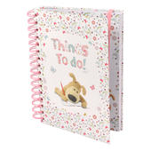 Boofle Things To Do Lined A5 Hardback Notebook