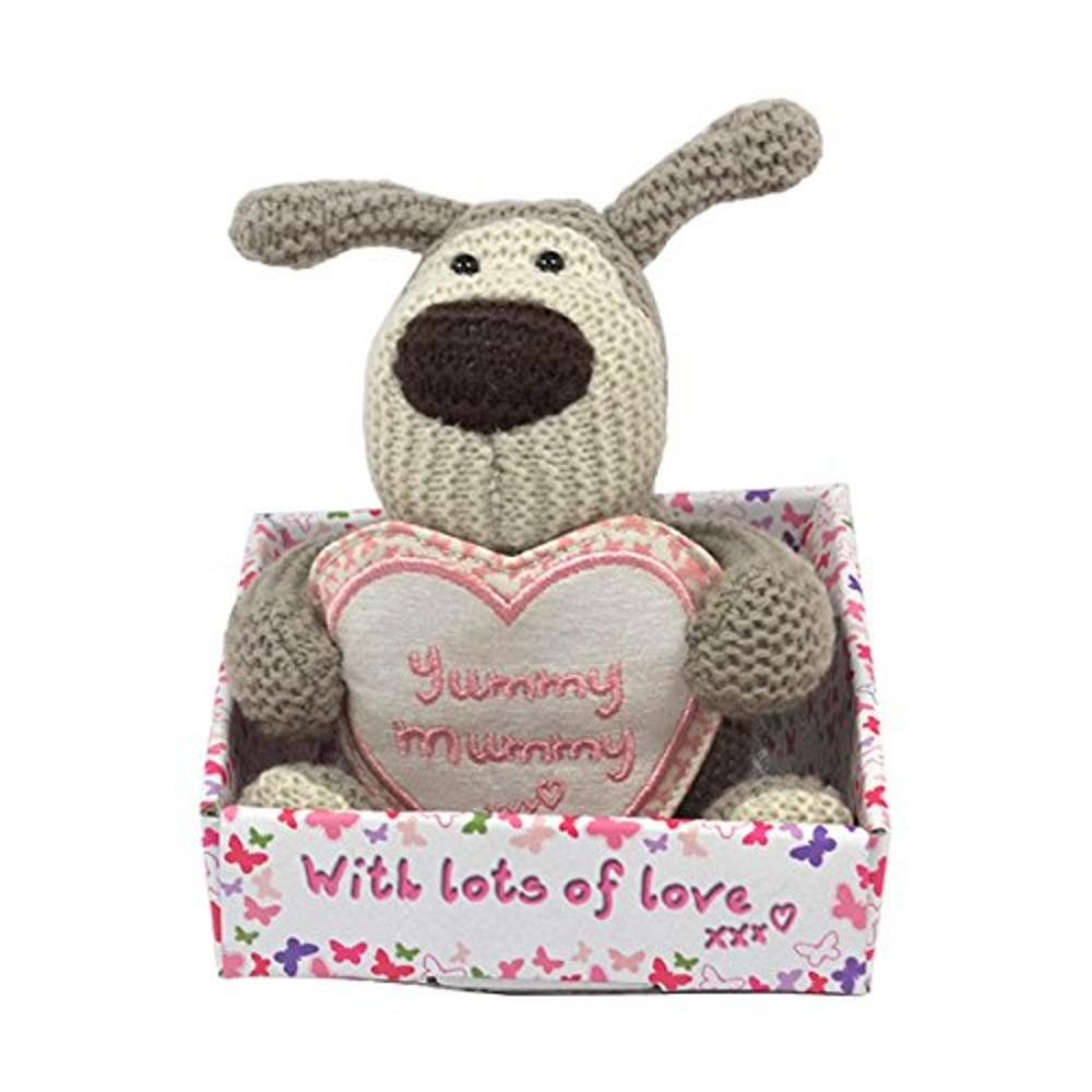 "Boofle Yummy Mummy  5"" Sitting Plush Toy With Tag In Box"