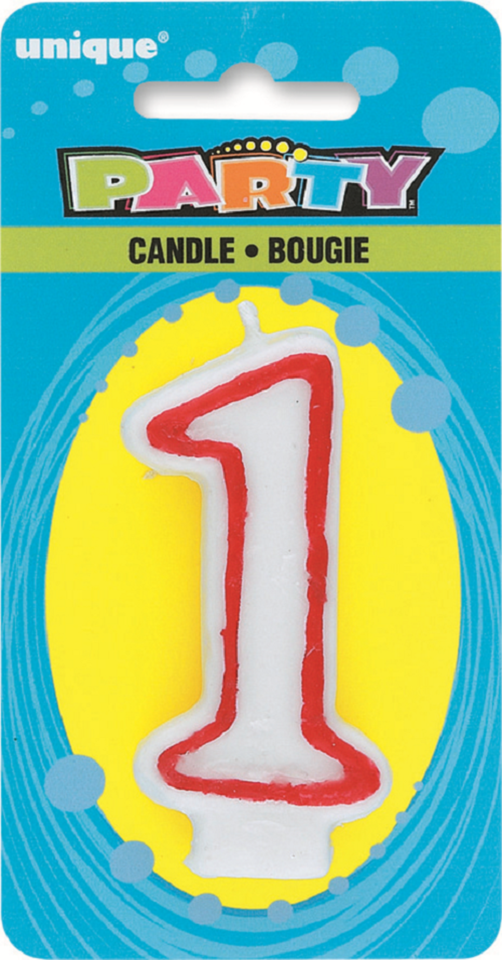 Number 1 Birthday Cake Candle