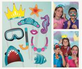 Underwater Theme Photo Booth Photo Props Party Kit