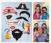Pirate Theme Photo Booth Photo Props Party Kit