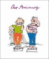 Quentin Blake Our Anniversary Greeting Card