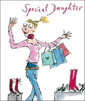 Quentin Blake Daughter Birthday Greeting Card