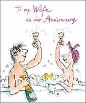 Quentin Blake Wife Anniversary Greeting Card