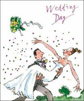 Quentin Blake Wedding Day Greeting Card