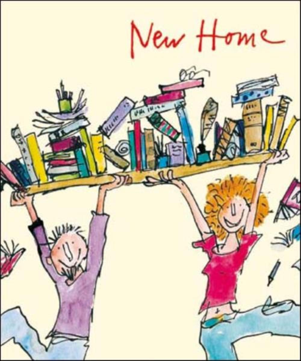 Quentin Blake New Home Greeting Card