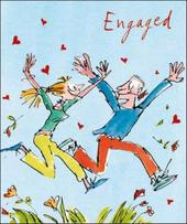Quentin Blake Engagement Greeting Card