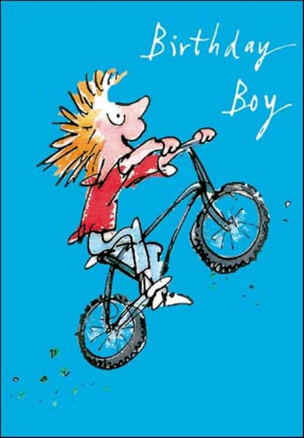 Quentin Blake Birthday Boy Greeting Card