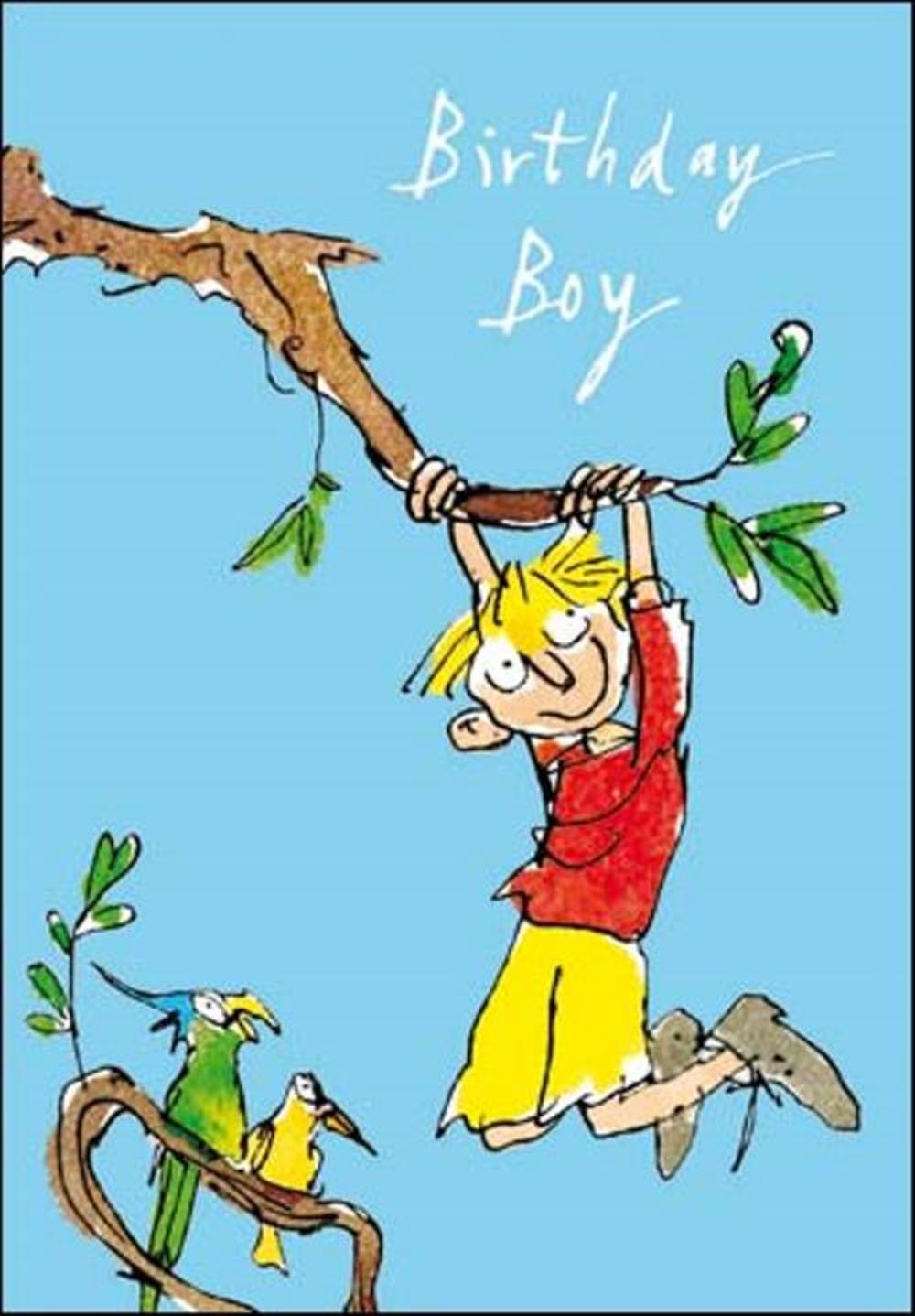 Quentin Blake Birthday Boy Greeting Card