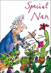 Quentin Blake Nan Birthday Greeting Card