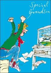 Quentin Blake Grandson Birthday Greeting Card