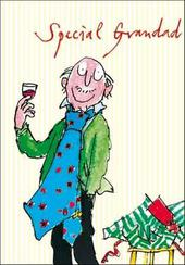 Quentin Blake Grandad Birthday Greeting Card
