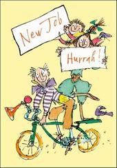 Quentin Blake New Job Congratulations Greeting Card