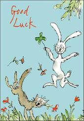 Quentin Blake Good Luck Greeting Card