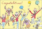 Quentin Blake Congratulations Greeting Card