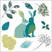 National Trust Heritage Rabbits Greeting Card